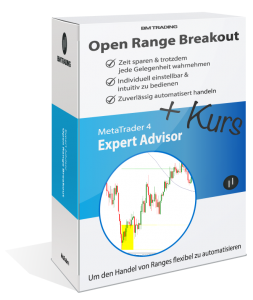 Open Range Breakout Strategie Kurs Backtest und MetaTrader 4 Expert Advisor Robot EA Handelssystem