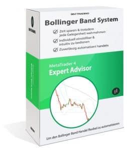 MT4 Expert Advisor Strategie Bollinger Bands EA